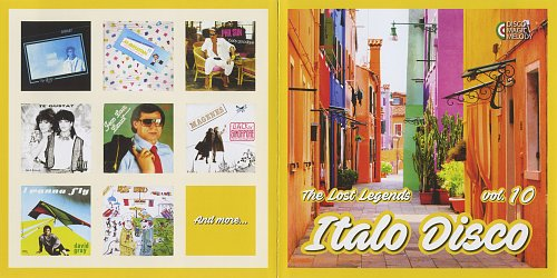 Italo Disco: The Lost Legends Vol. 10 (2017)