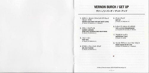 Vernon Burch - Get Up (1979/2018)