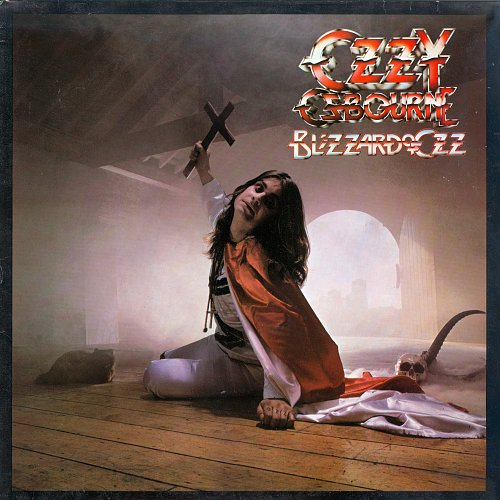 Ozzy Osbourne - Blizzard Of Ozz (1987) [LP Epic ‎450453 1, UK]