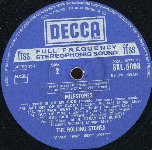 Rolling Stones - Milestones (1972)