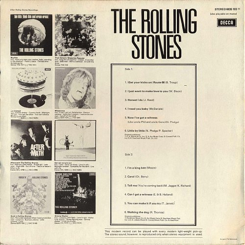 Rolling Stones, The - The Rolling Stones (1969)