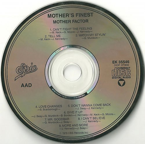 Mother's Finest - Mother Factor (1978)