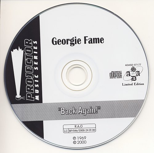 Georgie Fame & The Blue Flames - Back Again! (1969)