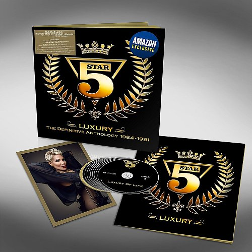 Five Star (5 Star) - Luxury: The Definitive Anthology 1984-1991 (2018)