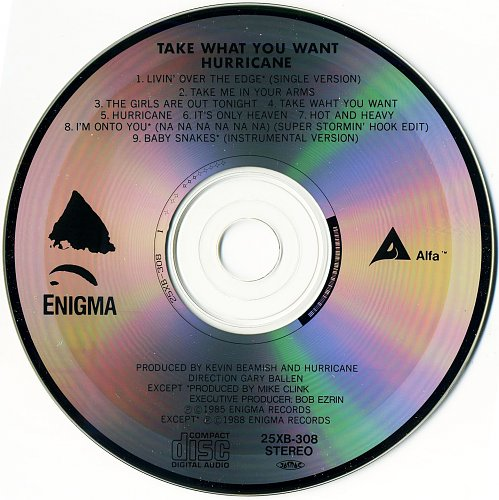 Hurricane - Take What You Want (1985)