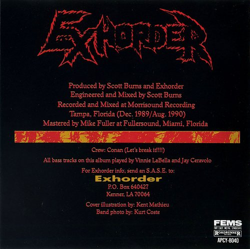 Exhorder - Slaughter In The Vatican (1991)