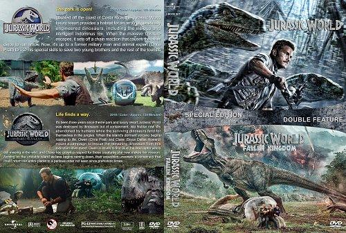 Мир юрского периода 1-2 / Jurassic World (2015) Jurassic World: Fallen Kingdom (2018)