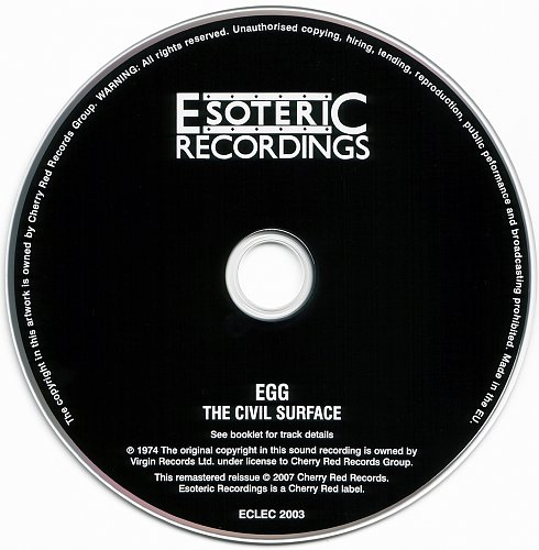 Egg - The Civil Surface (1974)