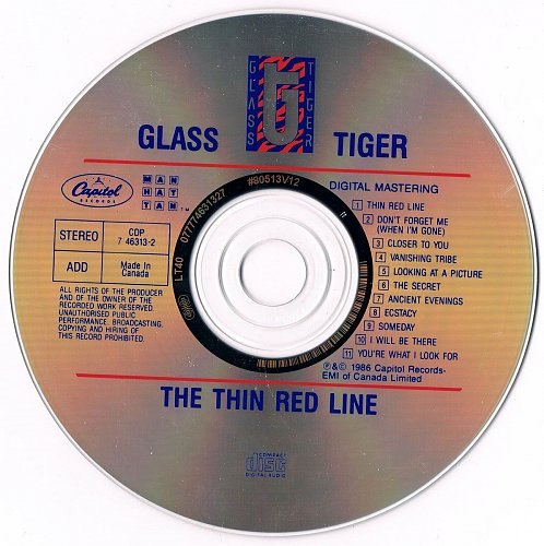Glass Tiger - The Thin Red Line (1986)