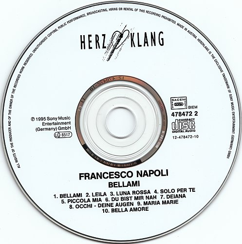 Francesco Napoli - Bellami (1995)