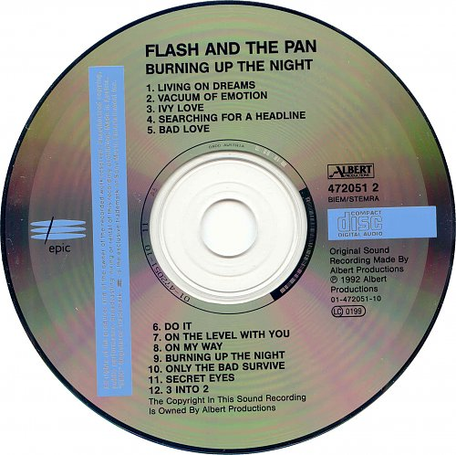 Flash And The Pan - Burning Up The Night (1992)