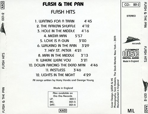 Flash And The Pan - Flash Hits (1988)