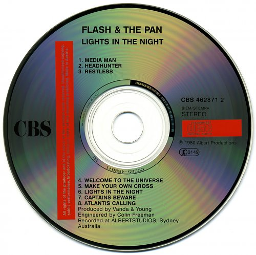Flash And The Pan - Lights In The Night (1980)