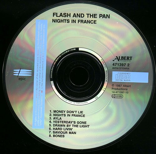 Flash And The Pan - Nights In France (1987)