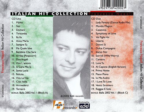 Francesco Napoli - Italian Hit Collection (15 Years Of Hits) (2002)