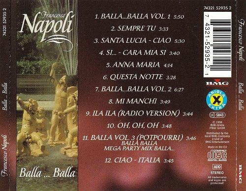 Francesco Napoli - Balla ... Balla (1998)