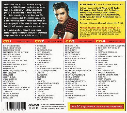 Elvis Presley - The Complete 1954-1962 U.S.A. Singles (2015)