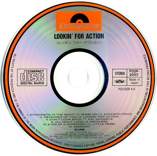 Kuni - Looking For Action (1988)