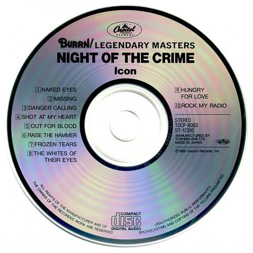 Icon - Night Of The Crime (1985)