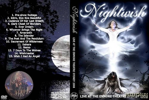 Nightwish-LIVE AT ENMORE THEATRE SYDNEY(2008)
