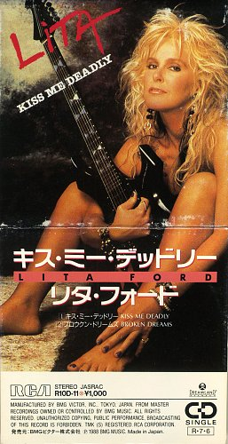 Lita Ford - Kiss Me Deadly (1988)