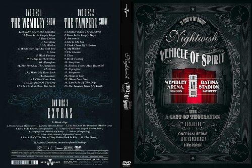 Nightwish-VENICLE Of SPIRIT(2016)