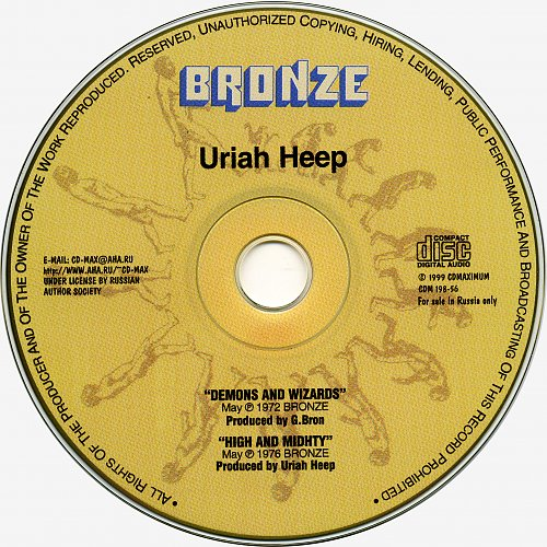 Uriah Heep - Demons and Wizards / High and mighty (2000)