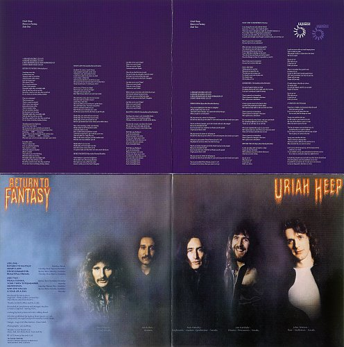 Uriah Heep - Solisbury / Return To Fantasy (2000)