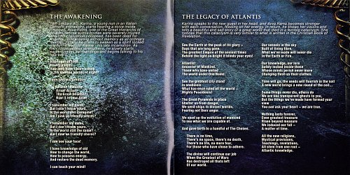 Imperial Age - The Legacy Of Atlantis. A Metal Opera (2018 CDM Records, Rubicon Music, Japan)