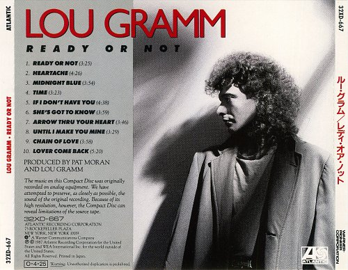 Lou Gramm - Ready Or Not (1987)