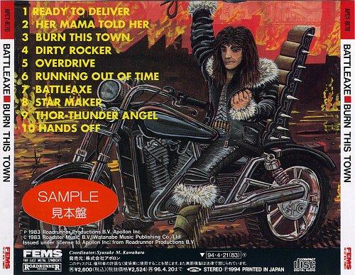 Battleaxe - Burn This Town (1983)