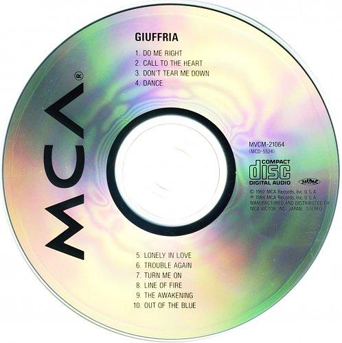 Giuffria - Giuffria (1992)