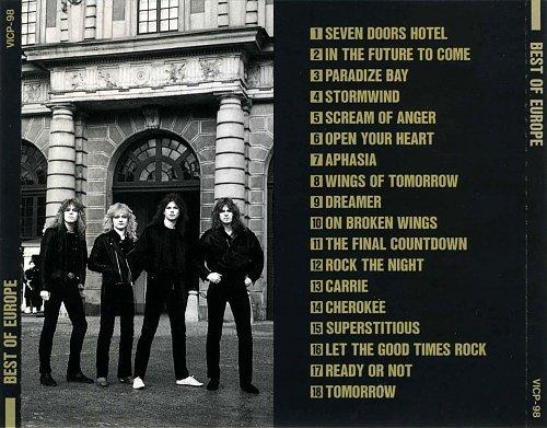 Europe - Best Of Europe (1990)