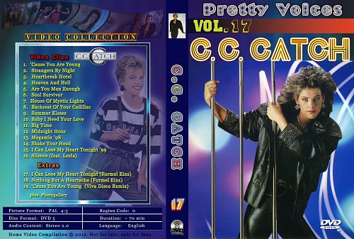 C.C.Catch - Video Colection - Vol.17 (2012)