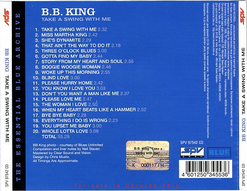 B.B. King - Take A Swing With Me (2006)