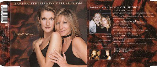 Barbra Streisand & Celine Dion - Tell Him (1997, CD-MAXI)