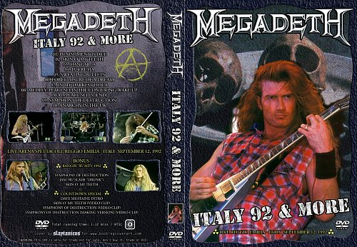 Megadeth-ITALY 92 MORE(1992)