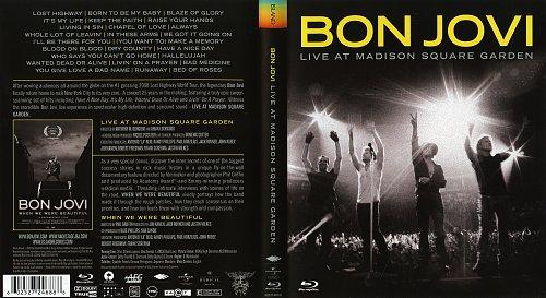 Bon Jovi-Live At Medison Square Garden