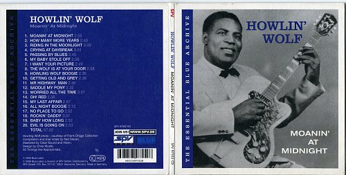 Howlin' Wolf - Moanin' At Midnight (2006, Comp)