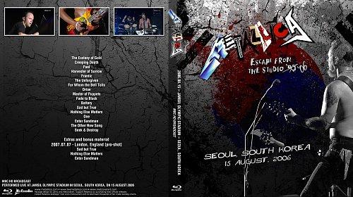 Metallica-Escape From The Studio Seul South Korea(2006)