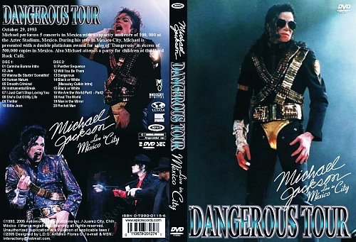 Michael Jackson - Dangerous World Tour - Live In Mexico(1993)