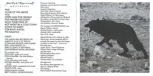 John Kay & Steppenwolf - Wolftracks (1982) / Paradox (1984) (2006, FruitGum)