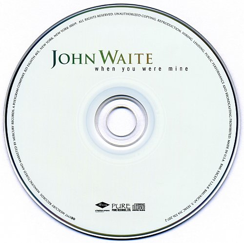 John Waite - When You Were Mine (1997)