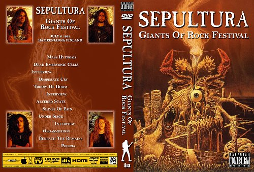 Sepultura-Giants Of Rock Festival Finland(1991)