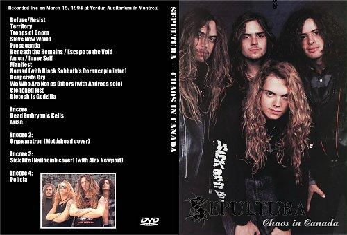 Sepultura-Chaos In Canada(1994)