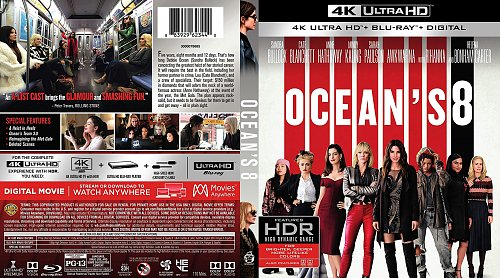 8 подруг Оушена / Ocean's 8 (2018)