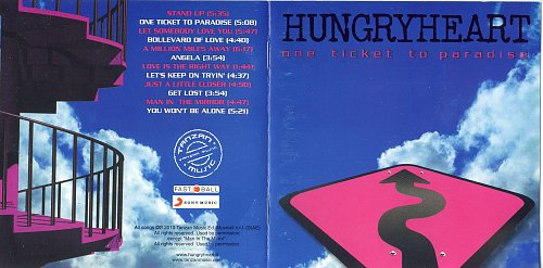 Hungryheart - The Ticket to Paradise (2010)