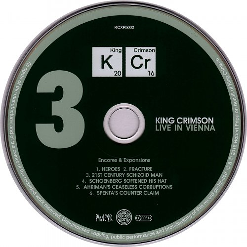 King Crimson - Live In Vienna (2018)