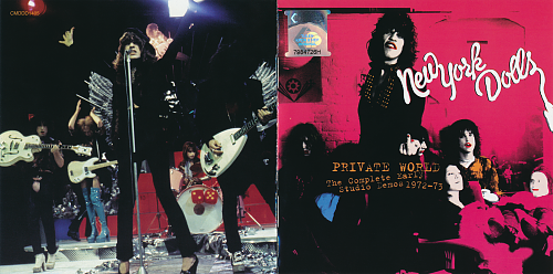 New York Dolls - Private World. The Complete Early Studio Demos 1972-73 (2006)
