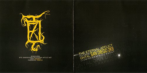 Eternal Afflict Featuring Qntal - San Diego 2K9 (Luminographic) Agony (2009)